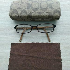 Coach Hilary glasses, case, cloth